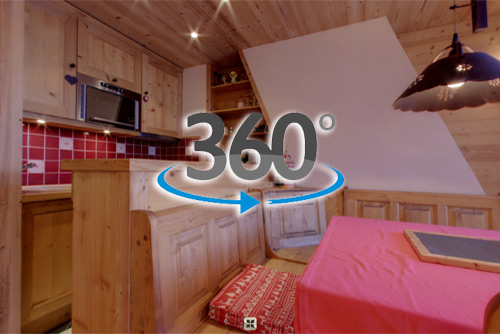Visite virtuelle appartement Avoriaz 2015